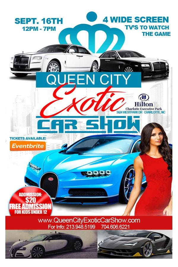 Queen City Exotic Car Show OCT - Car show charlotte nc