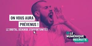#LeNumeriqueRecrute@hautsdefrance: 2e édition