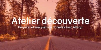 Atelier Découverte : Préparer et analyser vos données avec Alteryx