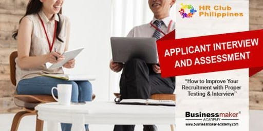 COMPETENCY- BASED INTERVIEW  AND ASSESSMENT