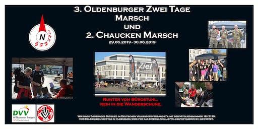 3. Oldenburger Marsch und 2. Chauken-Marsch