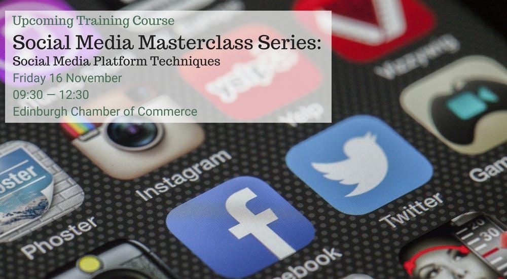 Social Media Masterclass Series: Social Media