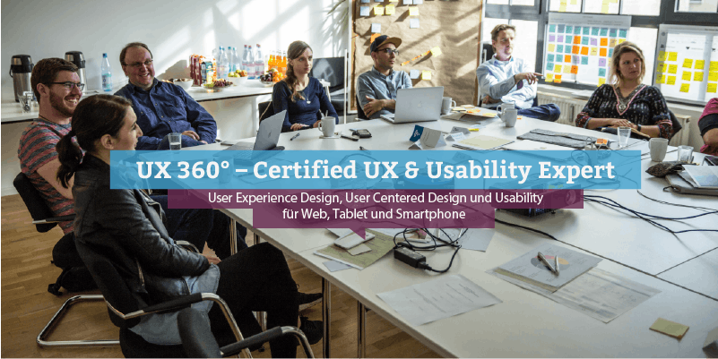 UX 360° – Certified UX & Usability Expert, Ha