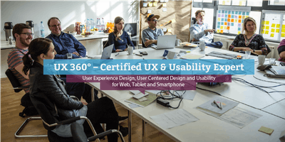 UX 360° - Certified UX & Usability Expert (engl.)