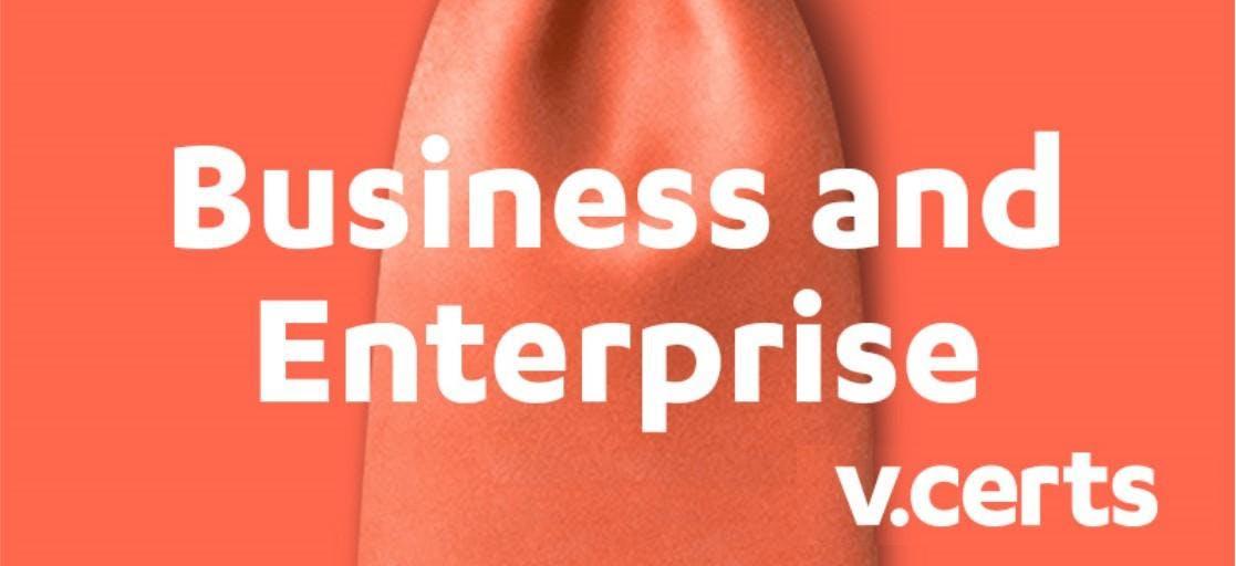 Prepare To Teach V Cert Business And Enterprise Certificate