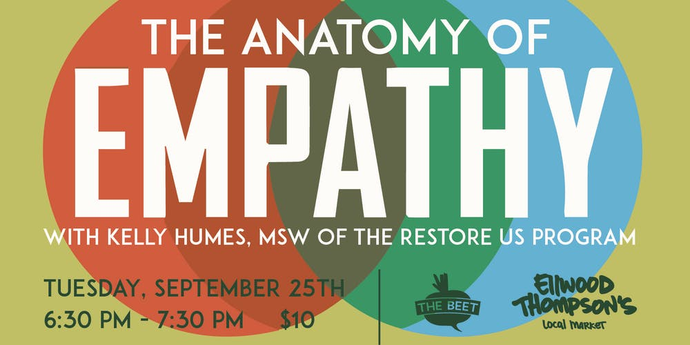 The Anatomy of Empathy Tickets, Tue, Sep 25, 2018 at 6:30 PM ...