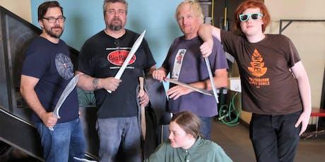 Bronze Age Sword Casting Class tickets