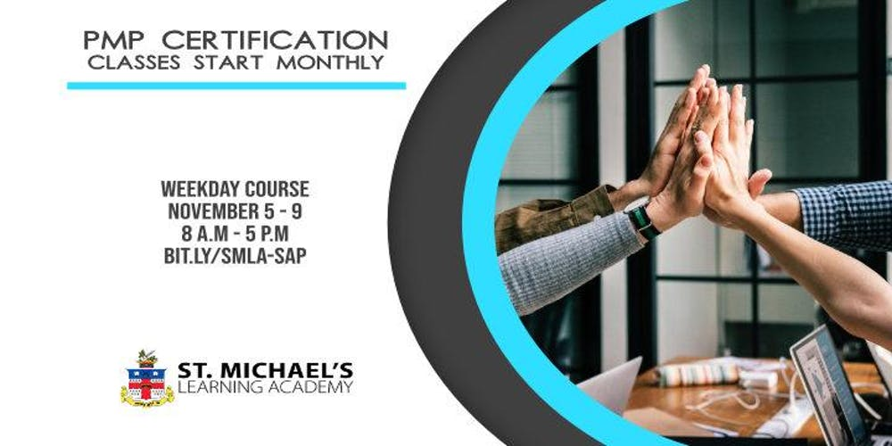 Weekday Project Management Professional (PMP) Certification November ...