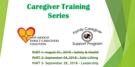 Navajo FCSP - Navajo Family Caregiver Support Program Events
