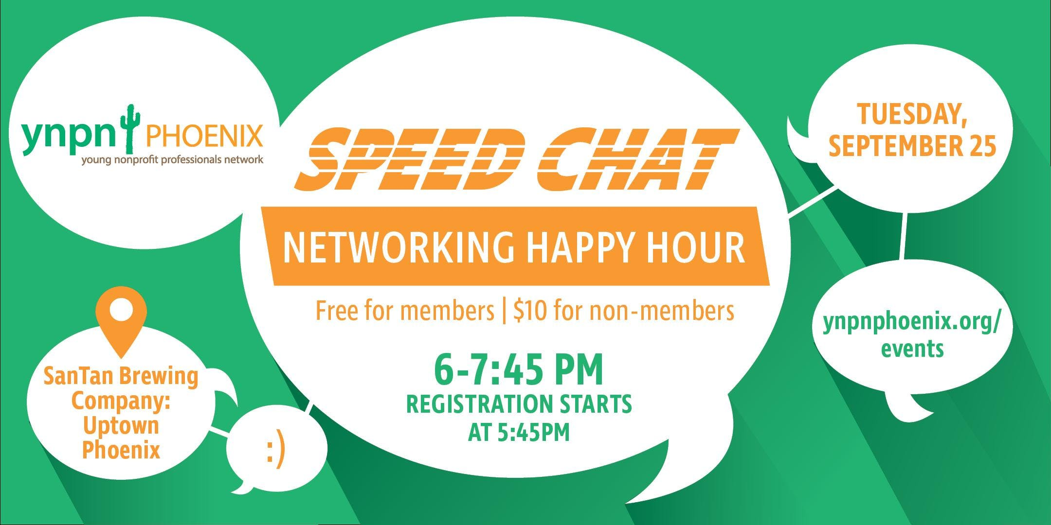 Speed Chat: Networking Happy Hour