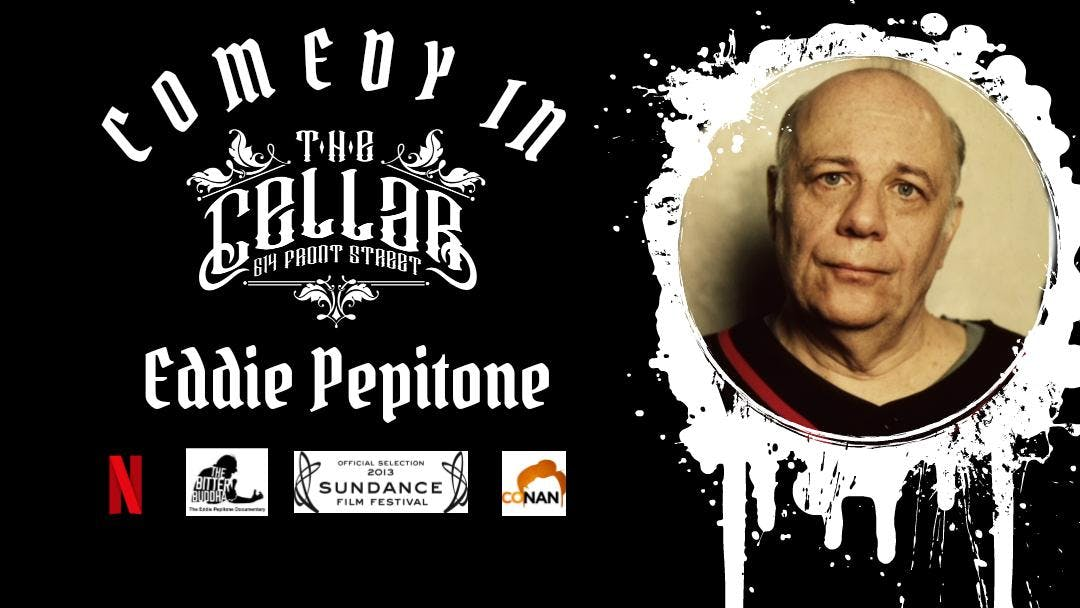Comedy in The Cellar - Eddie Pepitone