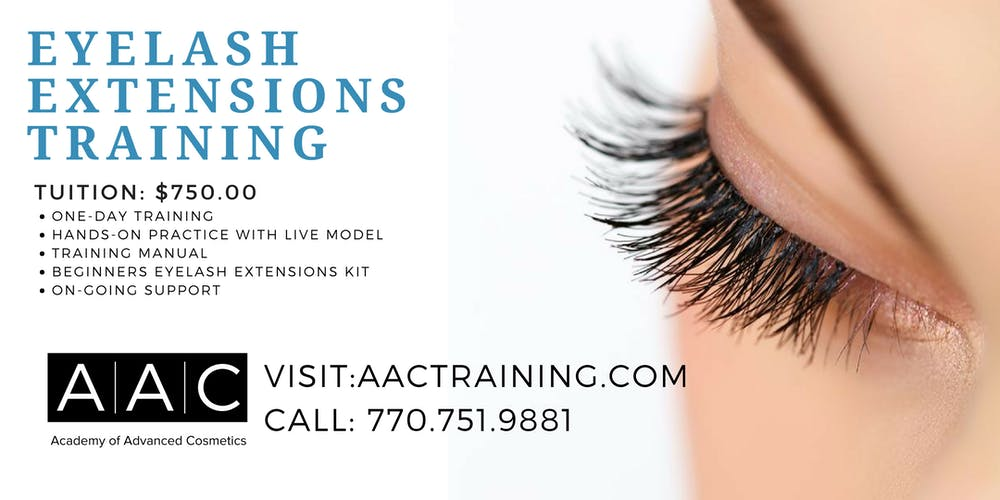 Eyelash Extensions Training Tickets Thu Nov 8 2018 At 900 Am