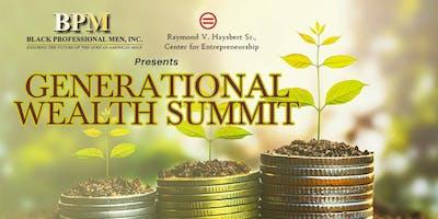 Generational Wealth Summit