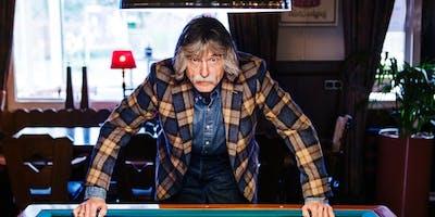 Johan Derksen Keeps The Blues Alive in Heiloo (Noord-Holland) 16-03-2019