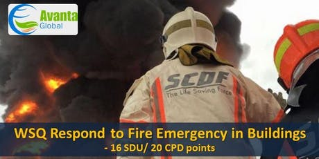 WSQ Respond to Fire Emergency in Buildings (RFEB) tickets