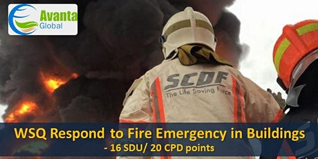 WSQ Respond to Fire Emergency in Buildings (RFEB) tickets
