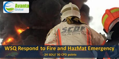 WSQ Respond to Fire and Hazmat Emergency (RFHE) tickets