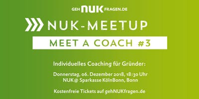 Meet a coach #3   NUK-Meetup