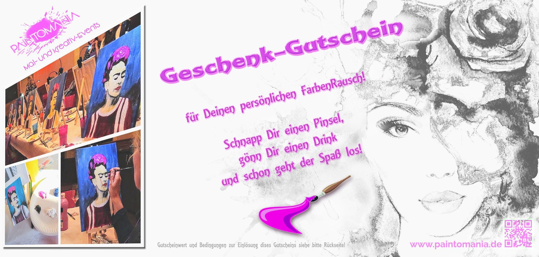 PAINTOMANIA - GUTSCHEIN (per Postzustellung)