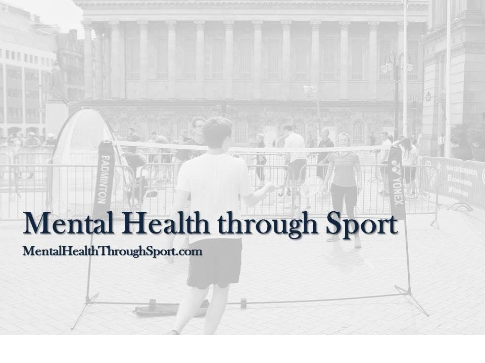 Mental Health through Sport - Symposium