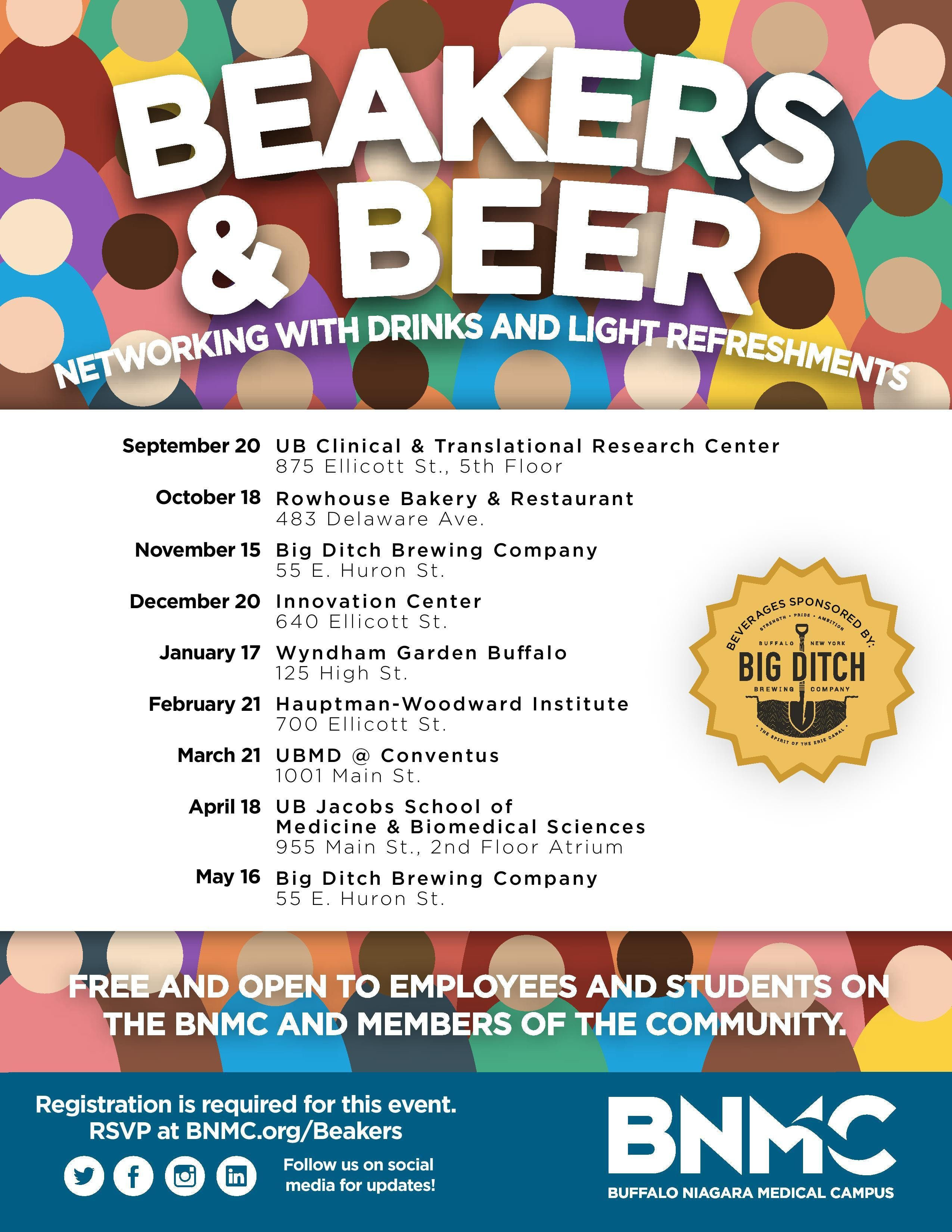 Beakers & Beer at CTRC