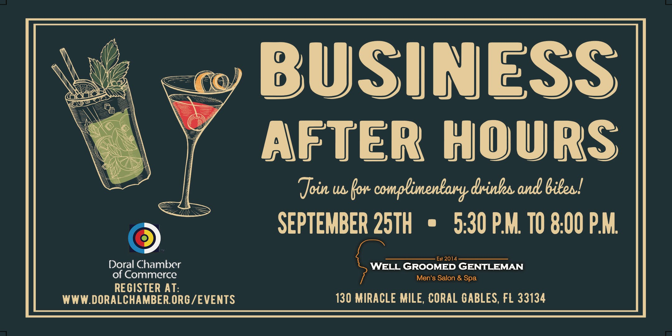 Business After Hours at Well Groomed Gentlema