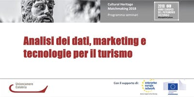 Analisi dei dati, marketing e tecnologie per il turismo