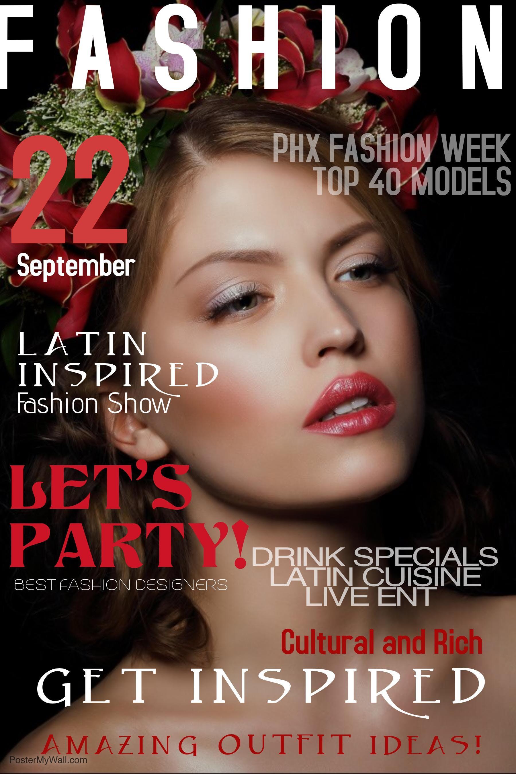 Latin Inspired Fashion Show
