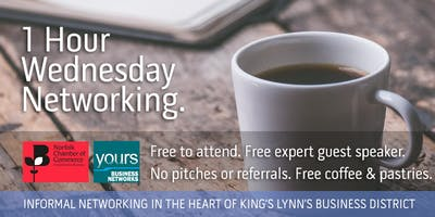 1 Hr Wednesday FREE Networking & Making Tax Digital event
