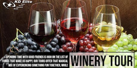 WINERY BUS TOUR FROM BALTIMORE tickets