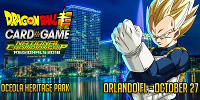 October 27 Orlando Dragon Ball Super Regional Presented by Pro-Play Games
