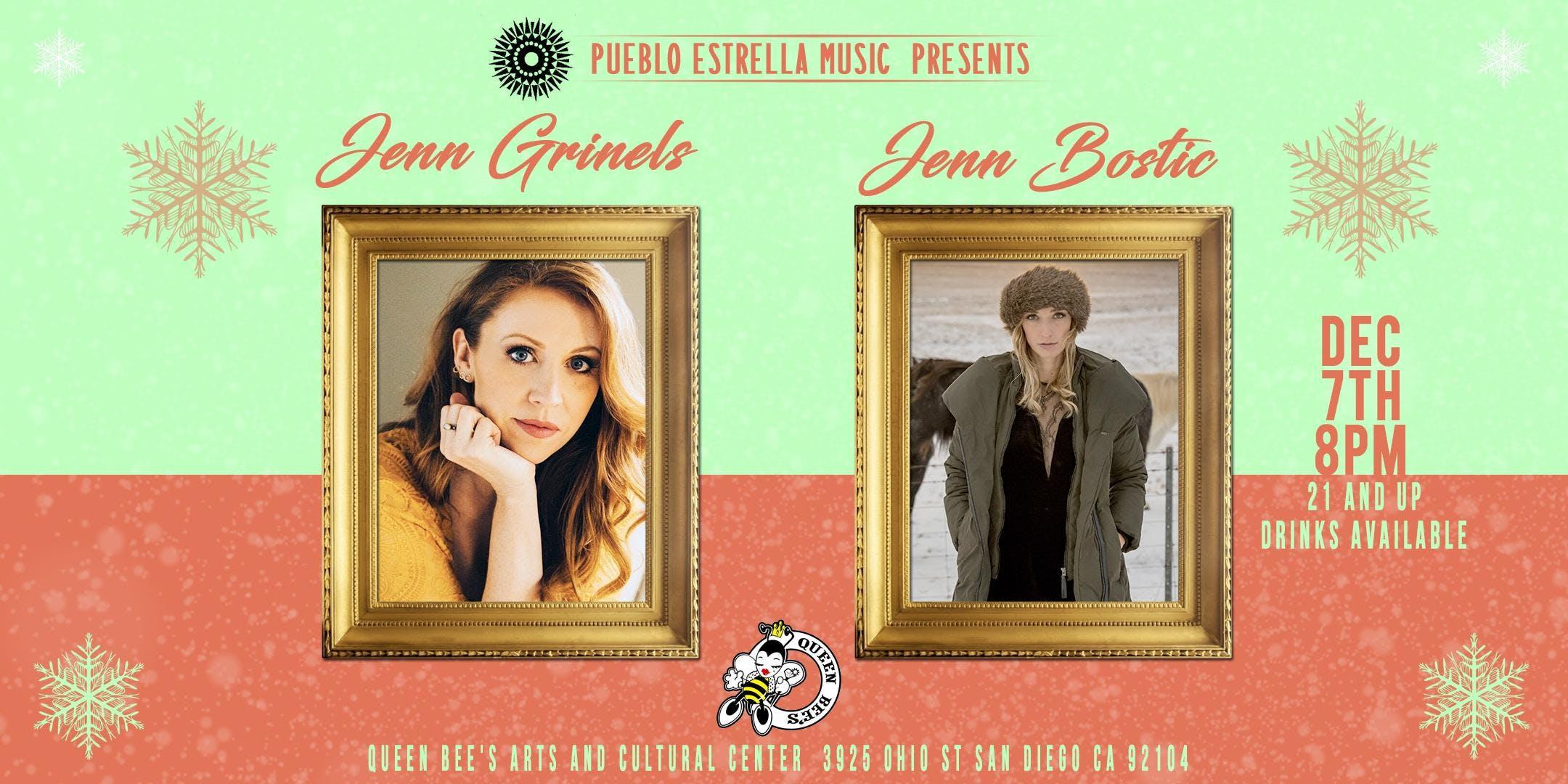 JENN GRINELS + JENN BOSTIC