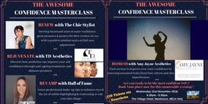 The Awesome Confidence Masterclass