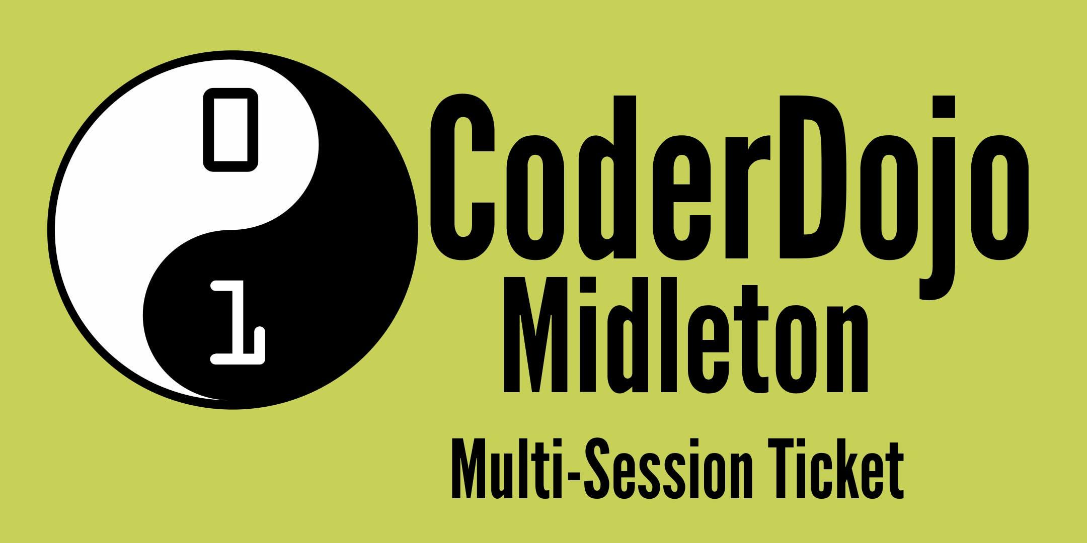 CoderDojo Midleton - Multiple-Session Ticket