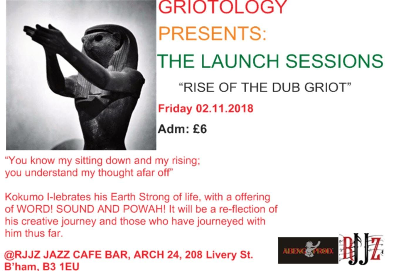 THE LAUNCH SESSIONS: RISE OF THE DUB GRIOT