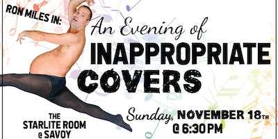 RON MILES - AN EVENING OF INAPPROPRIATE COVERS