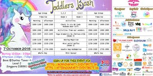 Sold out- AFterNoon ticket- Toddlers Bash x October...