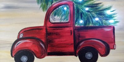Canvas & Corks Christmas Truck Nov 13
