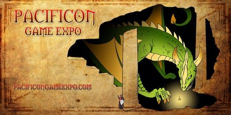 Pacificon SF Bay Area Game Convention tickets