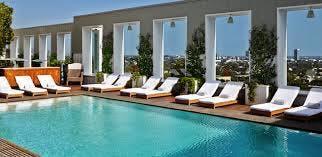 Skybar Pool Party at Mondarian Hotel