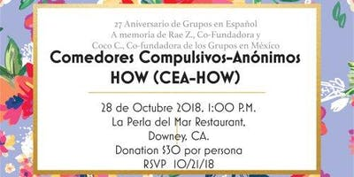 Comedores Compulsivos-Anonimos HOW (CEA-HOW) - Downey - October Sunday