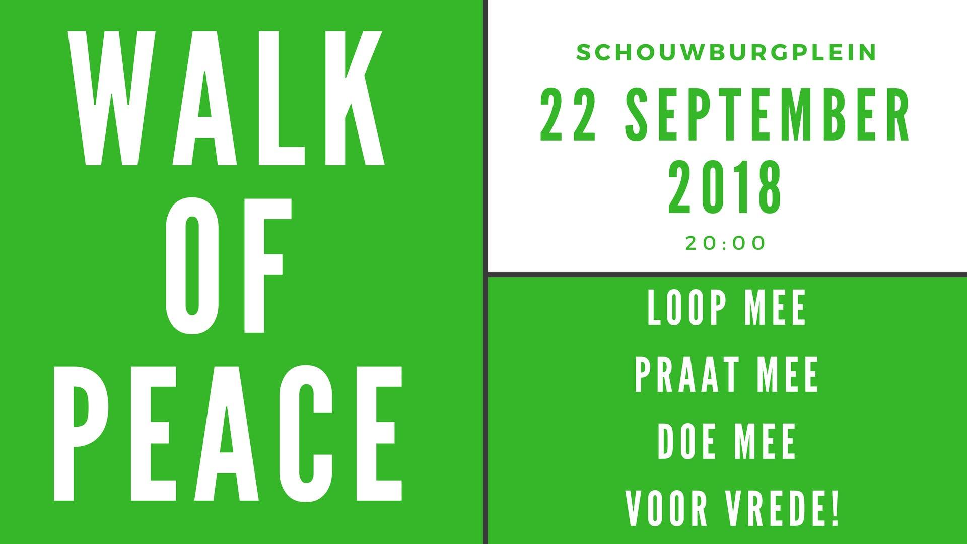 Walk of Peace Rotterdam