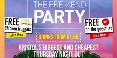 Crush Thursdays | VIP & BOOTH BOOKINGS | Popworld Bristol | Crush Events