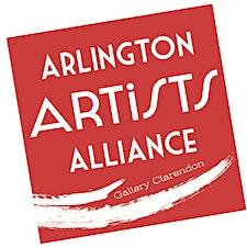 Arlington Artists Academy at Gallery Clarendon logo