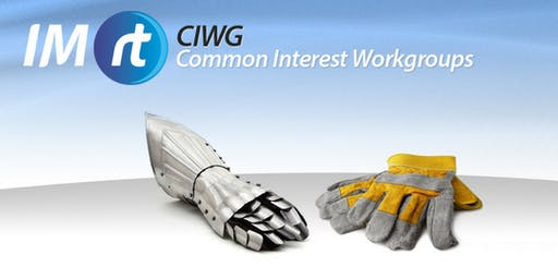 NSW IMRt CIWG | Rotating Equipment – CM & Maintenance