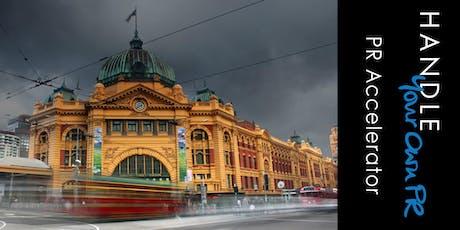 EV1 Melbourne PR Accelerator tickets