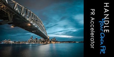 EV2 Sydney PR Accelerator tickets