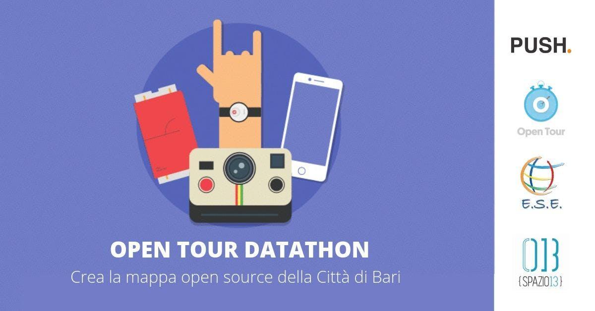 OPEN TOUR Datathon: Crea la mappa opensource
