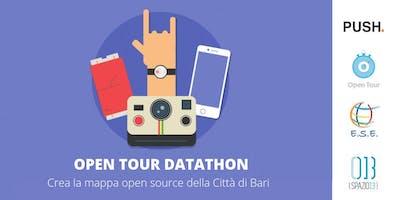 OPEN TOUR Datathon: Crea la mappa opensource della Città di Bari