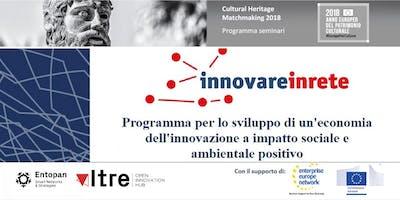 Innovare in rete: finanziare imprese, innovazione e impatto sociale
